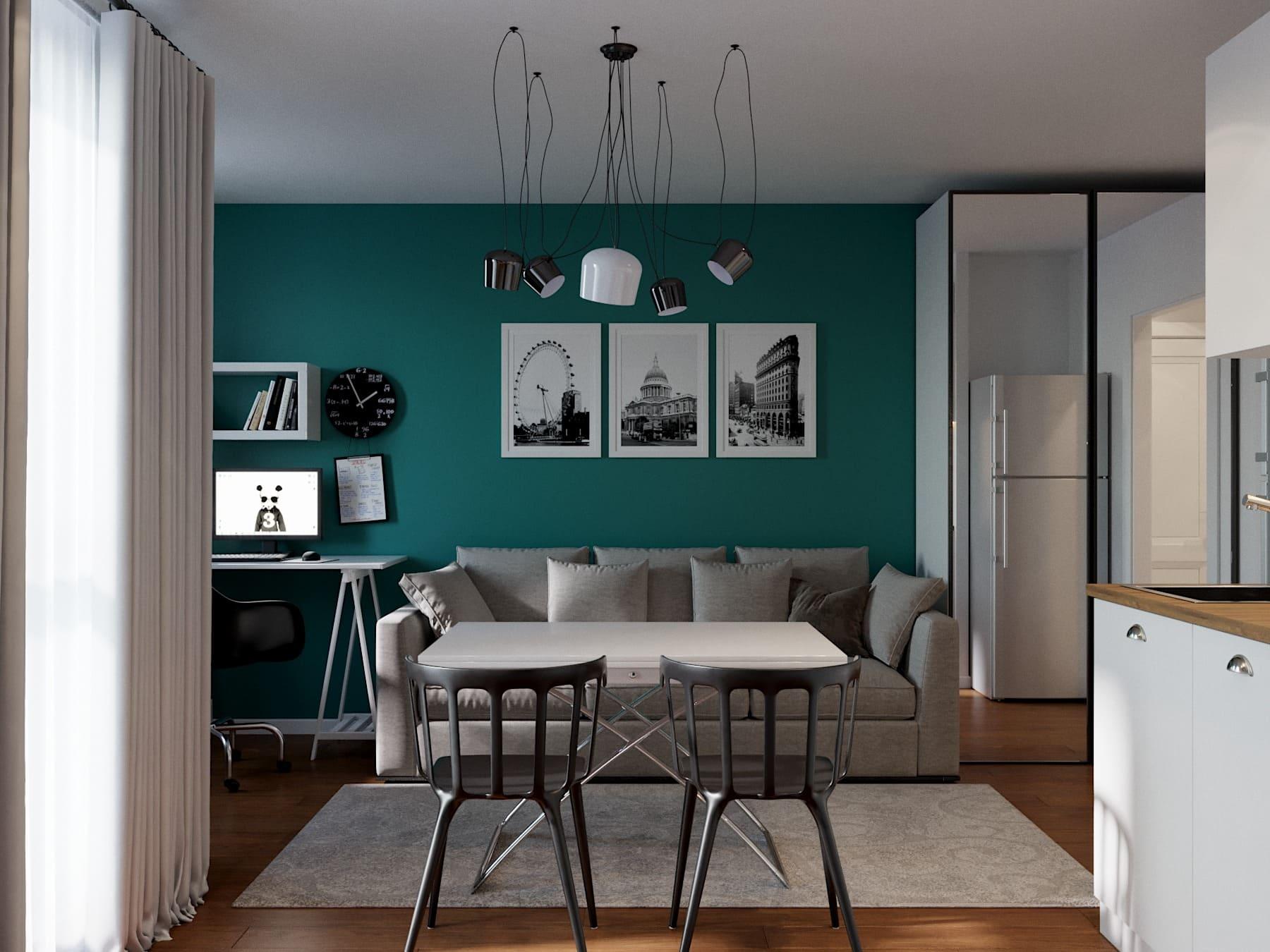Дизайн проект квартиры в ЖК Новое Мурино