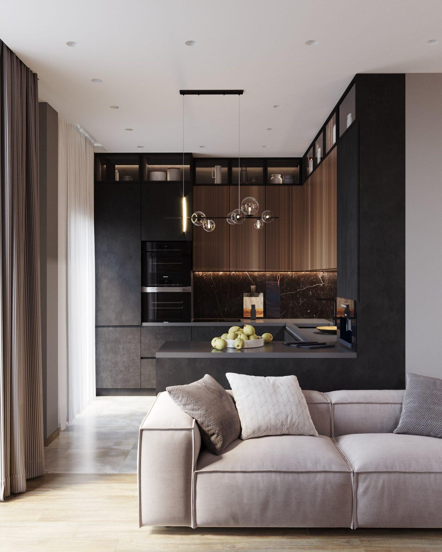 Дизайн-проект квартиры в ЖК Лахта Парк